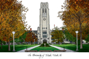 Campus Images OH985 University of Toledo Campus Images Lithograph Print