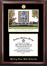 Campus Images OH986LGED Bowling Green State Gold embossed diploma frame with Campus Images lithograph