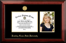 Campus Images OH986PGED-97 Bowling Green State 9w x 7h Gold Embossed Diploma Frame with 5 x7 Portrait