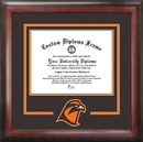 Campus Images OH986SD Bowling Green State University Spirit Diploma Frame