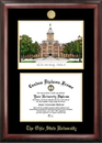 Campus Images OH987LGED Ohio State  University Gold embossed diploma frame with Campus Images lithograph