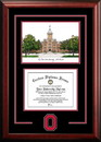 Campus Images OH987SG Ohio State  University Spirit  Graduate Frame with Campus Image