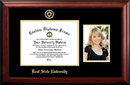 Campus Images OH989PGED-1185 Kent State University 11w x 8.5h Gold Embossed Diploma Frame with 5 x7 Portrait