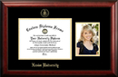 Campus Images OH990PGED-1185 Xavier University 11w x 8.5h Gold Embossed Diploma Frame with 5 x7 Portrait