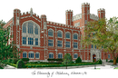 Campus Images OK998 University of Oklahoma Campus Images Lithograph Print