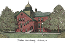 Campus Images OK999 Oklahoma State University Campus Images Lithograph Print