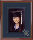 Campus Images PA993CSPF University of Pittsburgh 5X7 Graduate Portrait Frame