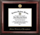 Campus Images PA995GED Indiana Univ - PA Gold Embossed Diploma Frame