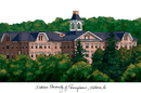 Campus Images PA995 Indiana Univ - PA Campus Images Lithograph Print