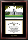 Campus Images SC993LGED The Citadel Gold embossed diploma frame with Campus Images lithograph