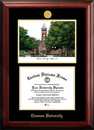 Campus Images SC994LGED Clemson University Gold embossed diploma frame with Campus Images lithograph