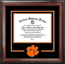 Campus Images SC994SD Clemson University Spirit Diploma Frame