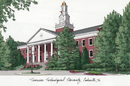 Campus Images TN998 Tennessee Tech University Campus Images Lithograph Print