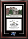 Campus Images TN999SG Middle Tennessee State Spirit Graduate Frame with Campus Image