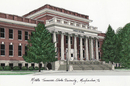 Campus Images TN999 Middle Tennessee State Campus Images Lithograph Print