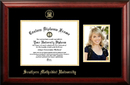 Campus Images TX944PGED-1185 Southern Methodist University 11w x 8.5h Gold Embossed Diploma Frame with 5 x7 Portrait