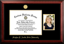 Campus Images TX945PGED-1411 Stephen F Austin 14w x 11h Gold Embossed Diploma Frame with 5 x7 Portrait
