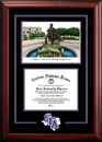Campus Images TX945SG Stephen F Austin Spirit  Graduate Frame with Campus Image