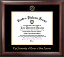 Campus Images TX948GED University of Texas - San Antonio Gold Embossed Diploma Frame