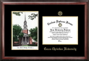 Campus Images TX949LGED Texas Christian University Gold embossed diploma frame with Campus Images lithograph