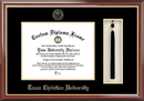 Campus Images TX949PMHGT Texas Christian University Tassel Box and Diploma Frame