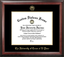Campus Images TX951GED University of Texas, El Paso Gold Embossed Diploma Frame