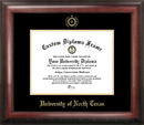 Campus Images TX952GED University of North Texas Gold Embossed Diploma Frame