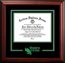 Campus Images TX952SD University of North Texas Spirit Diploma Frame