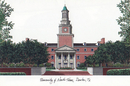 Campus Images TX952 University of North Texas Campus Images Lithograph Print