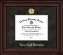 Campus Images TX953EXM Texas A&M Executive Diploma Frame