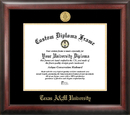 Campus Images TX953GED Texas A&M University Gold Embossed Diploma Frame