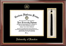 Campus Images TX954PMHGT University of Houston Tassel Box and Diploma Frame
