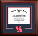 Campus Images TX954SD University of Houston Spirit Diploma Frame