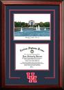 Campus Images TX954SG University of Houston  Spirit Graduate Frame with Campus Image