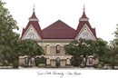 Campus Images TX956 Texas State - San Marcos Campus Images Lithograph Print