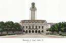 Campus Images TX959 University of Texas - Austin Campus Images Lithograph Print