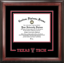 Campus Images TX960SD Texas Tech University Spirit Diploma Frame