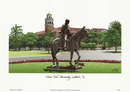 Campus Images TX960 Texas Tech University Campus Images Lithograph Print