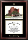 Campus Images TX994LGED Lamar University Gold embossed diploma frame with Campus Images lithograph