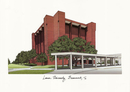 Campus Images TX994 Lamar University Campus Images Lithograph Print