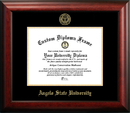 Campus Images TX999GED Angelo State University Gold Embossed Diploma Frame