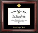 Campus Images UT995GED University of Utah Gold Embossed Diploma Frame