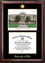 Campus Images UT995LGED University of Utah Gold embossed diploma frame with Campus Images lithograph