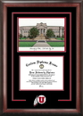Campus Images UT995SG University of Utah Spirit Graduate Frame with Campus Image