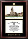 Campus Images UT997LGED Utah State University Gold Embossed Diploma Frame with Campus Images Lithograph