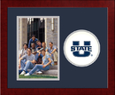 Campus Images UT997SLPFV Utah State University Spirit Photo Frame (Vertical)