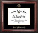 Campus Images VA989GED Liberty University Gold Embossed Diploma Frame