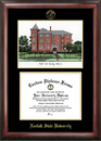 Campus Images VA992LGED Norfolk State Gold embossed diploma frame with Campus Images lithograph