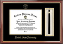 Campus Images VA992PMHGT Norfolk State Tassel Box and Diploma Frame