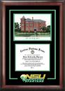 Campus Images VA992SG Norfolk State Spirit Graduate Frame with Campus Image